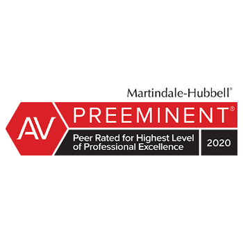 Peer Rated Highest Level of Professional Excellence